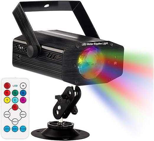GUSODOR Luz de Escenario 7 Colores Mini Luz de Escenario Efecto ...