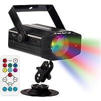 GUSODOR Luz de Escenario 7 Colores Mini Luz