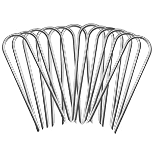 Blanketown Trampoline Wind Stakes,Galvanized Steel Trampoline Stakes Anchors