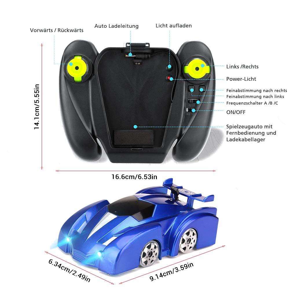 Nuovo RC Car Wall Racing Car Toy Arrampicata su soffitto Arrampicata sul Muro Telecomando Anti Gravity Giocattolo Modello di Auto Regalo per Bambini