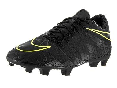 quality design 36373 a6158 ... australia nike mens hypervenom phade ii fg soccer cleat black black volt  8 d 3b543 490f3