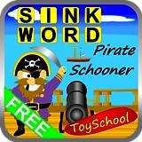 Sink Word Pirate Schooner Word Puzzles
