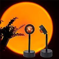 Zonsondergang Lamp, 180 ° Led Licht Projectie Lamp, Romantische Visuele Nachtlampje Lamp met USB voor Home Party…