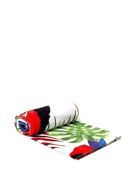 155cm x 92cm Asciugamano Desigual Telo Mare Towel Tropical 19sabw05
