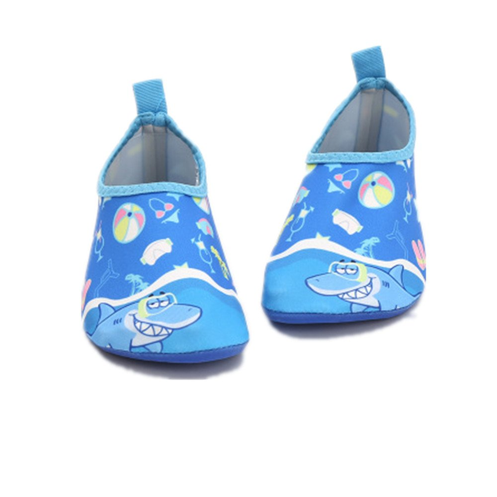 edv0d2v266 Kids Swim Water Shoes Quick Dry Non-Slip for Boys /& Girls