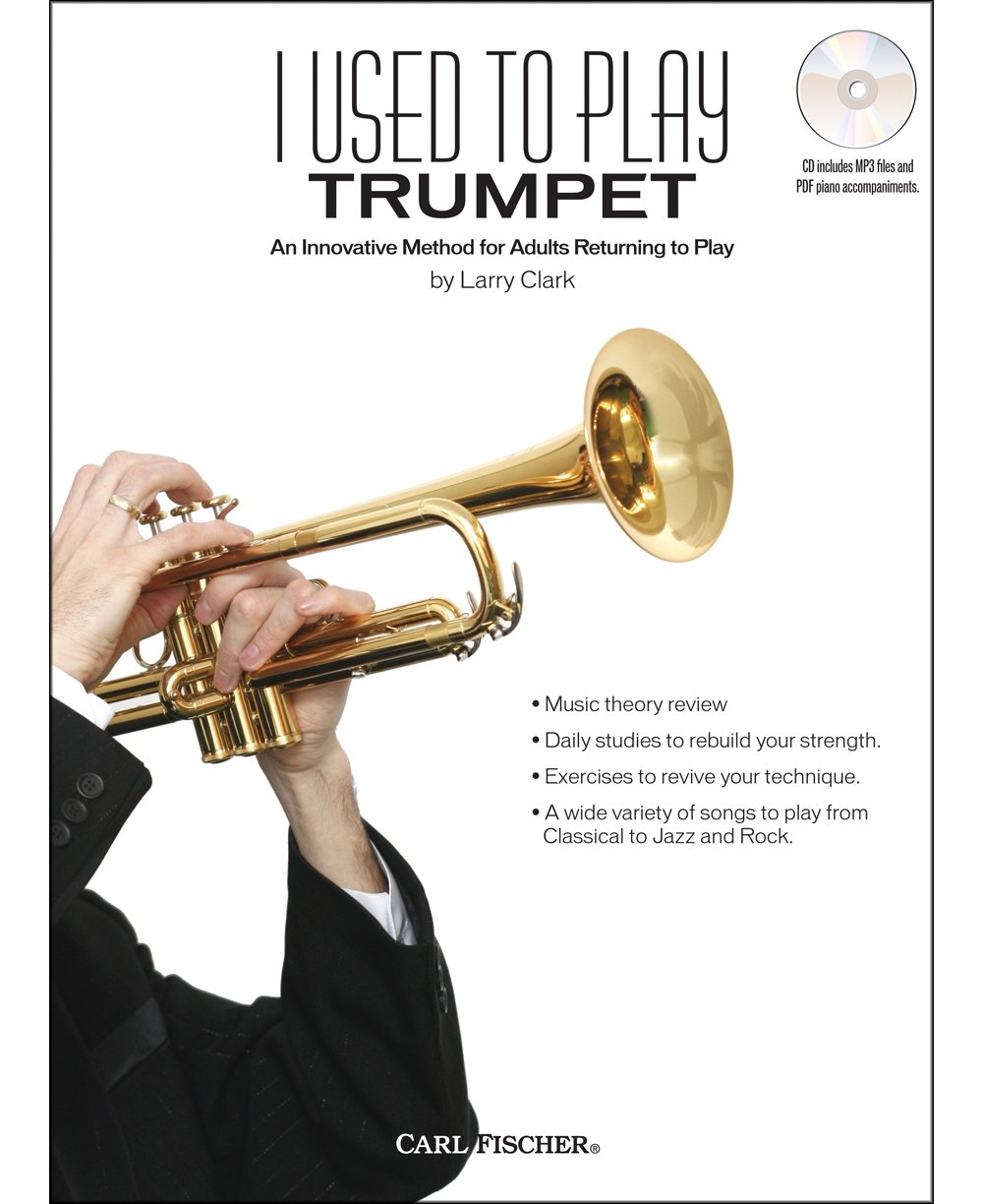 Amazon com: Carl Fischer I Used To Play Trumpet Book/CD