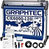 Graphtec PLUS CE6000-120 48 Inch Professional Vinyl Cutter with Bonus $2100 in Software and 2 Year Warranty