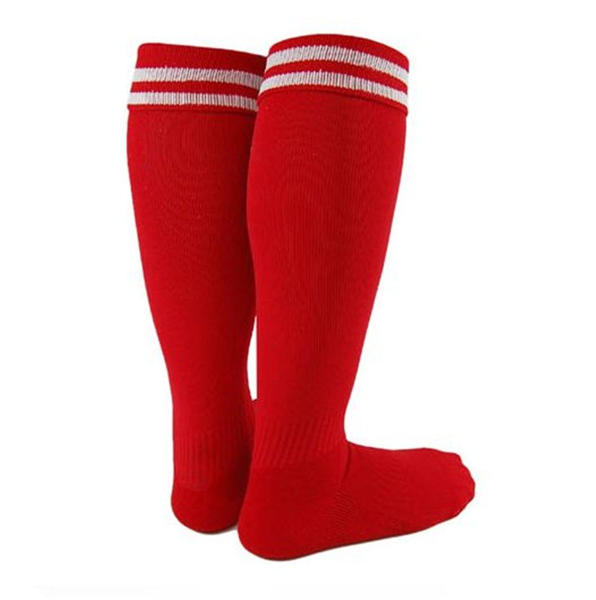 Lian LifeStyle Girl's 1 Pair Knee High Sports Socks for Baseball/Soccer/Football