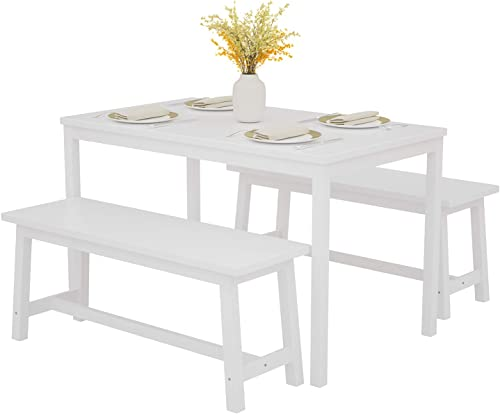 Mecor 3-Piece Dining Set Table