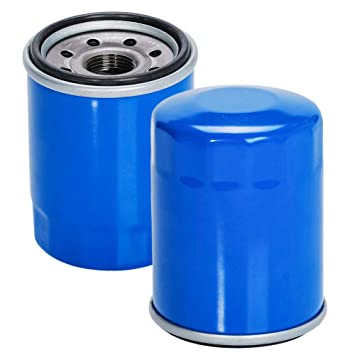 Amazon.com: hifrom Pack de 2 Filtro de aceite Reemplazar ...