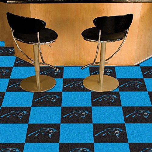 Carolina Panthers Carpet Tiles Flooring by Fanmats