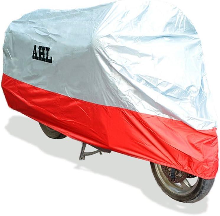 Ahl moto b/âche respirante pour moto imperm/éable anti-poussi/ère anti-UV pour ext/érieur tout au long de lann/ée Blu 2XL