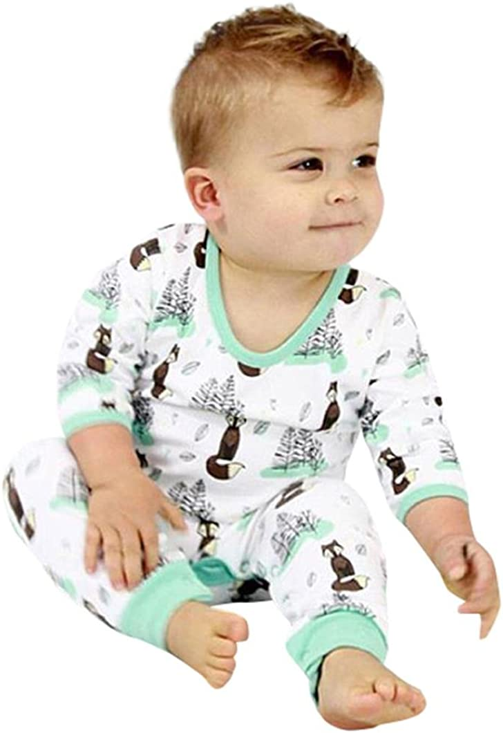 Newborn Baby Boy Girls Infant Rompers Jumpsuit Outfits Clothes Sleeveless Cartoon Elephant Print Hooded Costume Set