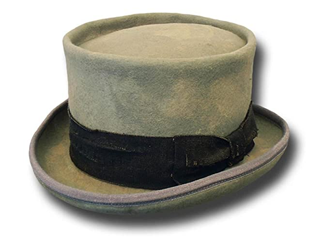 cb3dc0affb08c0 Amazon.com: Western Desert Rat Aged Top Hat Light Grey: Handmade