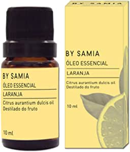 Óleo Essencial de Laranja 10 ml, By Samia, Multicor