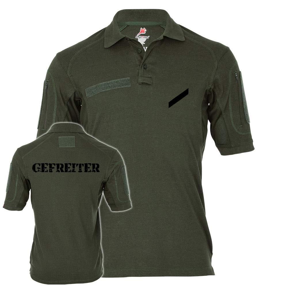 Copytec Tactical Poloshirt Alfa - Gefreiter Gefr G Dienstgrad BW Abzeichen Soldat  19205