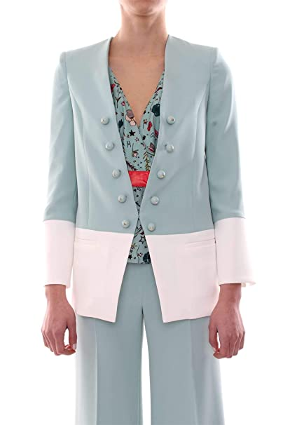 Elisabetta Franchi GI11991E2 Giacca E Blazer Donna  Amazon.it  Abbigliamento 08de7e98c3f2