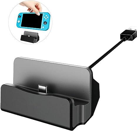 DALV - Base de carga para Nintendo Switch TV (adaptador HDMI 4K, para Nintendo Switch con USB 3.0 y tipo C): Amazon.es: Videojuegos