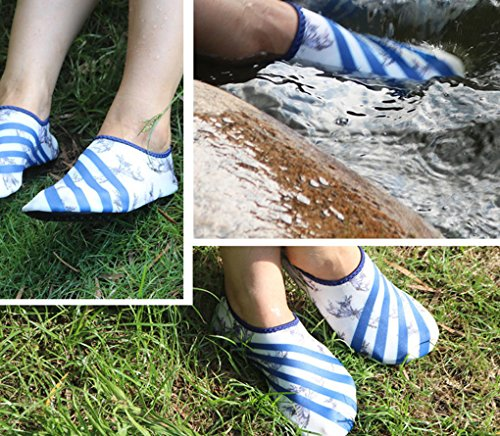 Barefoot Water Shoes Couple Pool Skin Shoes Gym Sports Yoga Aqua Shoes Sand Socks for Beach Pool Swimming Diving Surfing Yoga Exercise Aerobics C n1lUqC8T
