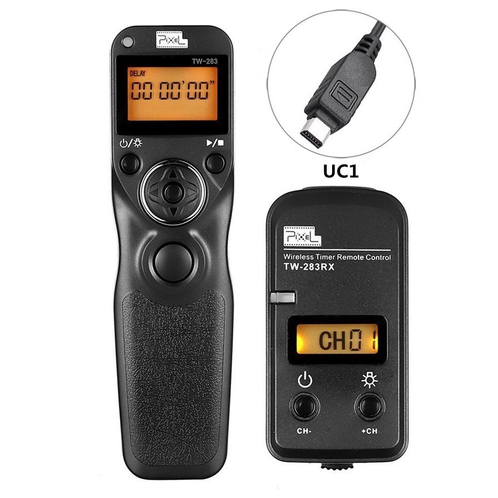 Pixel Timer Shutter Release Remote Control TW283-UC1 Timer Remote Release Shutter Control for Olympus by PIXEL