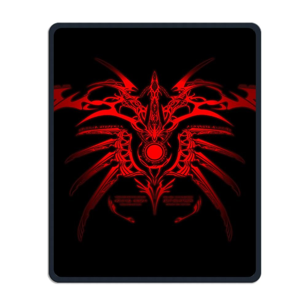 Mouse Pad Galaxy Rectangle Non-Slip Rubber Mousepad Spider Red Tattoo Print Gaming Mouse Pad THIS STORE