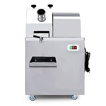 Cueffer Exprimidor Eléctrico de Caña de Azúcar 20RPM Extractor Comercial de Caña Exprimidor de Caña de