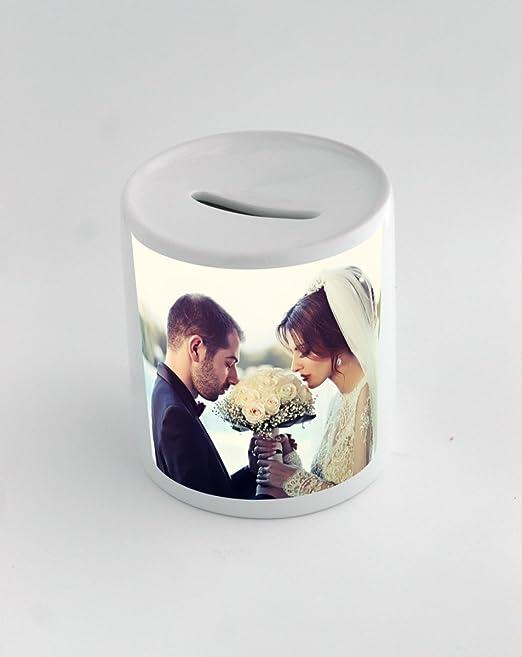 Caja de dinero con boda, pareja, amor, boda par: Amazon.es: Hogar