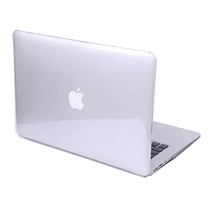 buy popular 900ed 6ecbb HDE Clear Plastic Hard Shell Case for Apple MacBook Air 11 inch (Models:  A1370 / A1465), Crystal Clear