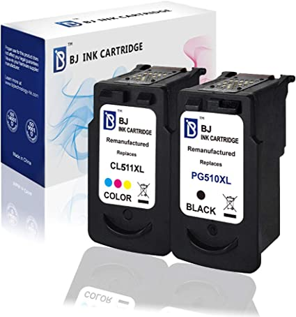 BJ PG510 CL511 - Cartuchos de Tinta reciclados para Canon Pixma ...