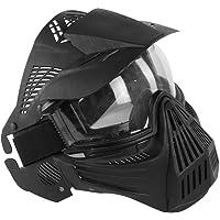 FOJMAI Máscara Protectora para Airsoft, Paintball, táctica, Lente