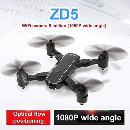 Lorenlli Para ZD5 Drone RC Plegable Flujo óptico WIIF FPV Drone ...