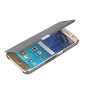 MTRONX Funda Samsung Galaxy S6 Edge, Cover Case Carcasa Caso Ultra Folio Flip Cuero Delgado Piel con Cierre Magnetico para Samsung Galaxy S6 Edge - ...