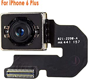 Johncase New OEM 8MP Autofocus Main Back Rear Camera Module Flex Cable Replacement Part Compatible for iPhone 6 Plus (All Carriers)