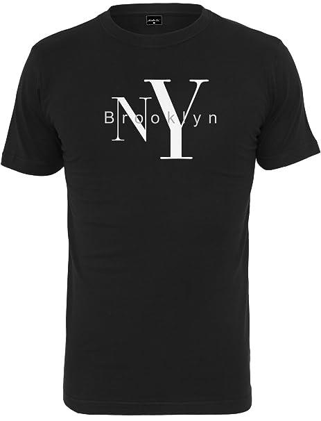 Mister Tee Herren Ny Brooklyn Tee T Shirt: : Bekleidung