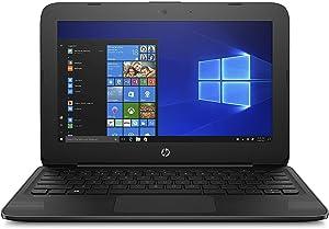 "HP Stream 11-ah117wm 11.6"" Netbook, Intel Celeron N4000, 4GB RAM, 32GB Flash Memory 4ND15UA#ABA"