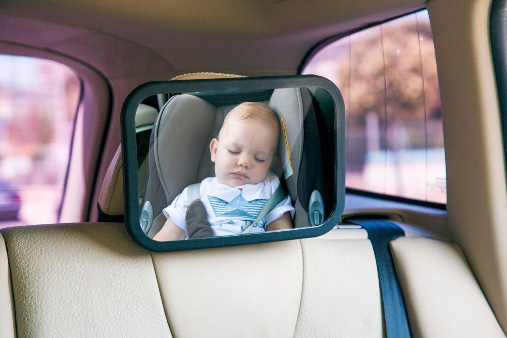 Espejo de seguridad trasero