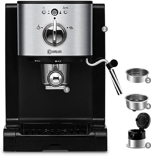 XINGQIANRU Capsule Coffee Maker Home Automatic Business Mini One Cafetera Fácil Y Rápida: Amazon.es: Hogar