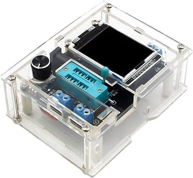 Kit Generador de Señal con Caja de Acrílicos GM328 Probador Accesorios Electrónicos: Amazon.es: Bricolaje y herramientas