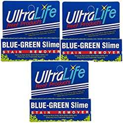 (3 Packs) Ultralife Blue Green Slime Stain Remover - Each Treats 150 Gallons