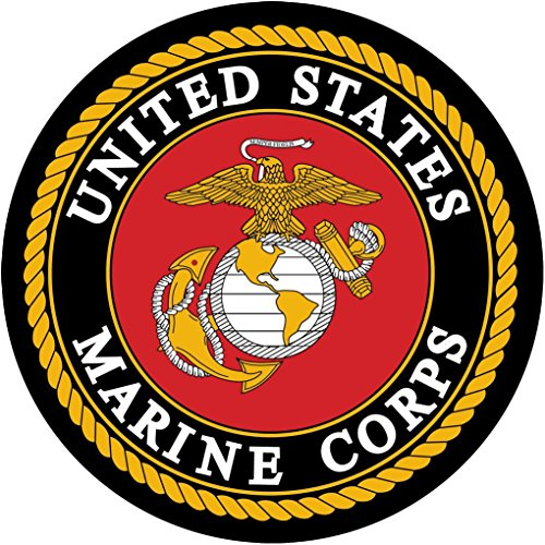 UNITED STATES MARINE CORPS Decal Graphic Wall Sticker Decor Logo H16, Large