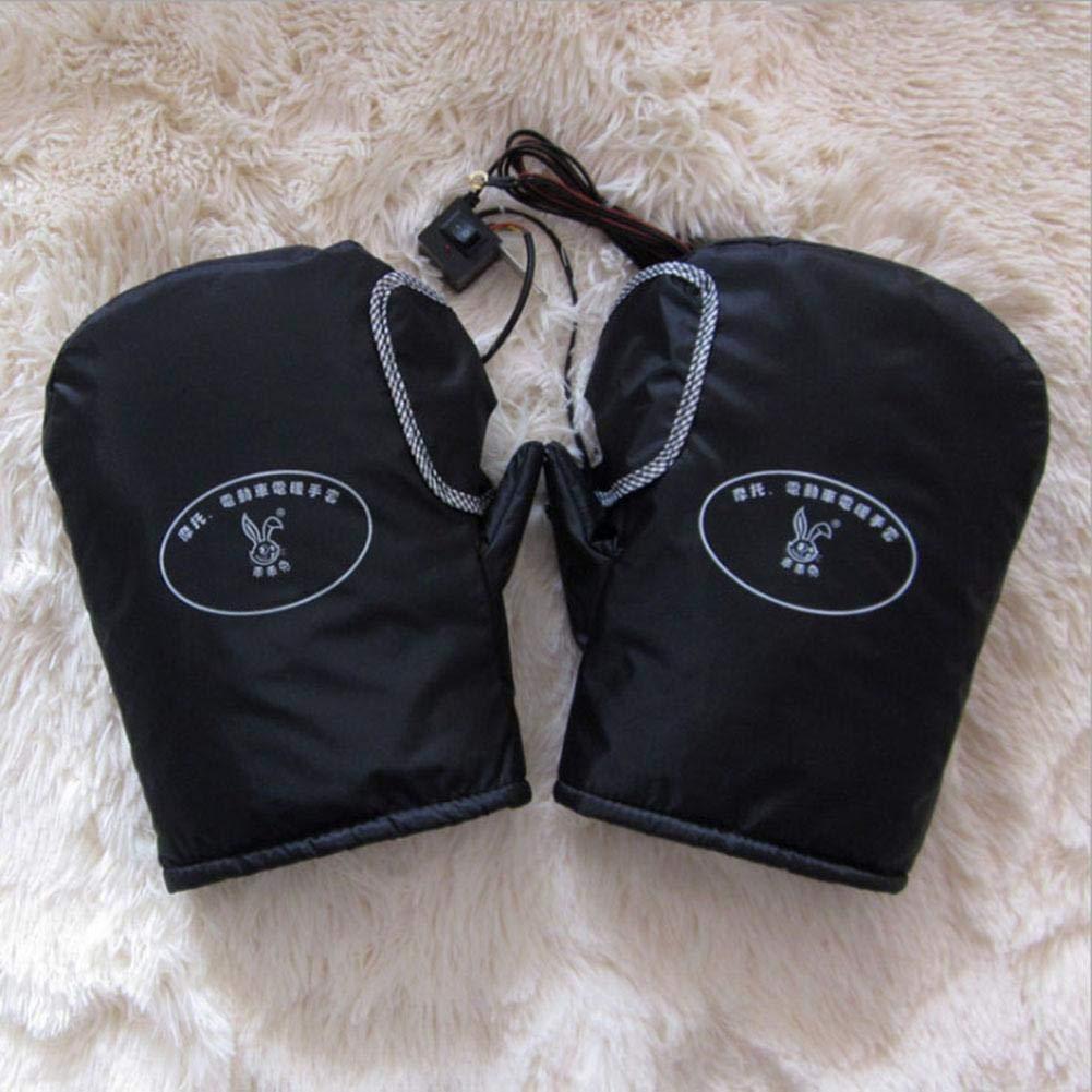 Gant de Couverture Thermique Chauffant Rapide de Gants de Moto chauff/és par Hiver pour des Motos Yunt-11 12V Gants de Moto