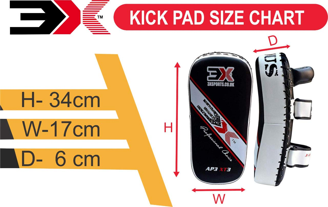 3X Professional Choice Boxing Strike Shield Training Thai Pad Kickboxing Krav Maga MMA Target Focus Punching Mitts SOLD AS SINGLE ITEM
