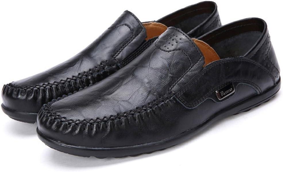 Zapatos De Hombre Mocasines Casuales Antideslizantes Senderismo Zapatos Planos Transpirables Antideslizantes Zapatos De Vestir De Trabajo