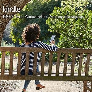 """Liseuse Kindle, écran tactile 6"""" (15,2 cm) antireflet, Wi-Fi (Noir) - Avec Offres spéciales"""