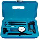 Central Tools 6400 .200' 0-100mm Range Dial Indicator Set'