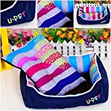 1Pc Excellent Popular Pet Bed Size M Nesting Kennel Soft Material Cat Mat Color Blue
