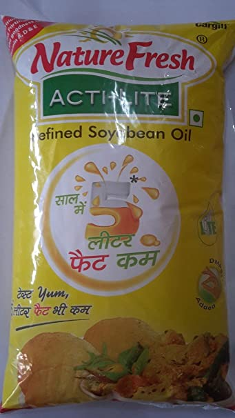 Cargill India Limited Refined Soyabean Oil (1Lt): Amazon in