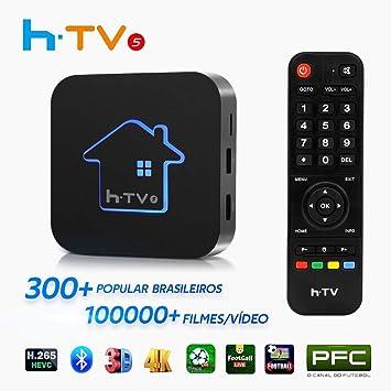 HTV 5 IPTVPRO BrazilianTV Brasil IPTV última versión, Canales de Vida, películas.: Amazon.es: Electrónica