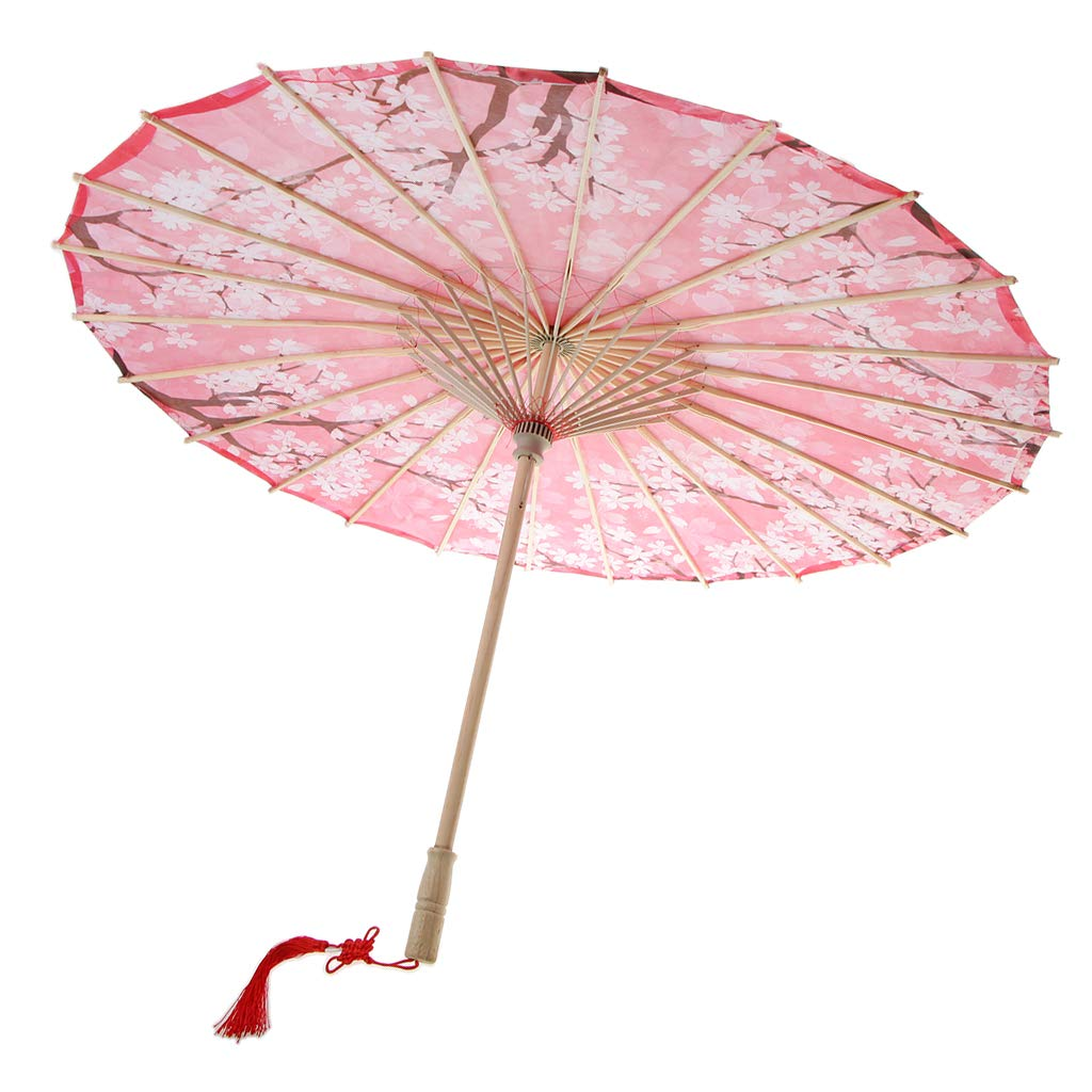 Fityle Chinese Classical Style Art Oil Paper Umbrellas Dance Umbrella Stage Show Props - 18