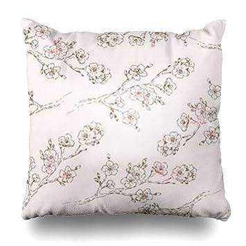 Amazon.com: DaniulloRU - Funda de cojín con diseño de flor ...